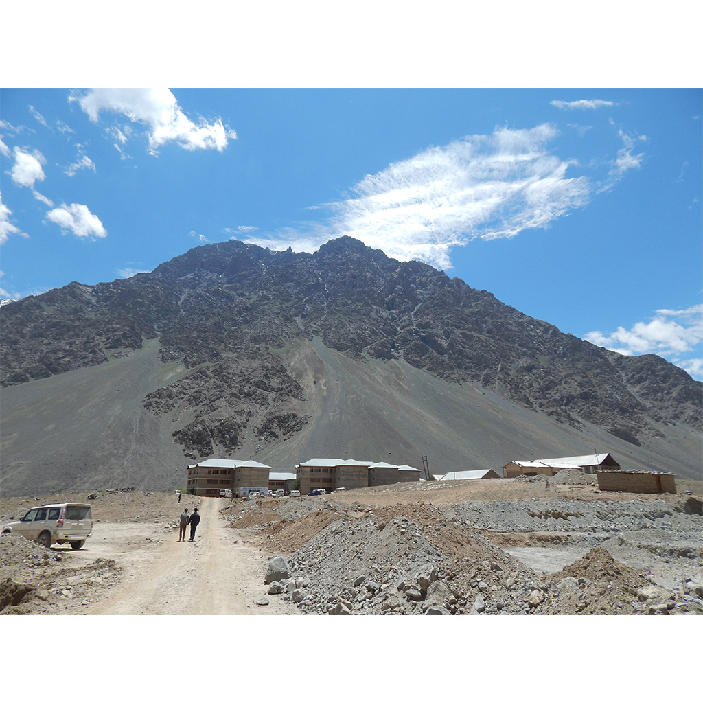 Kashmir University Kargil Campus Construction