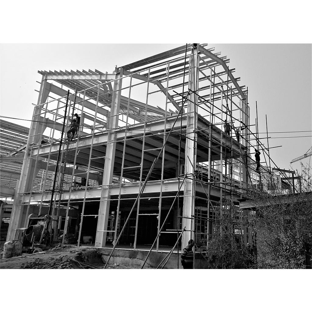 Kashmir University Main Campus Administration Building Construction