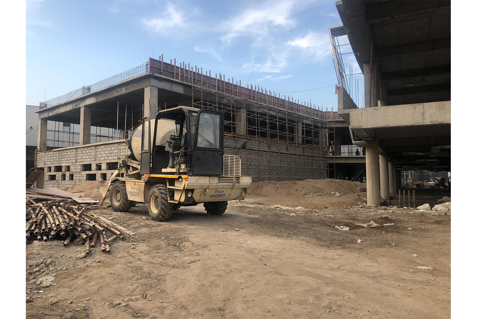 New Plasser India Industry Construction