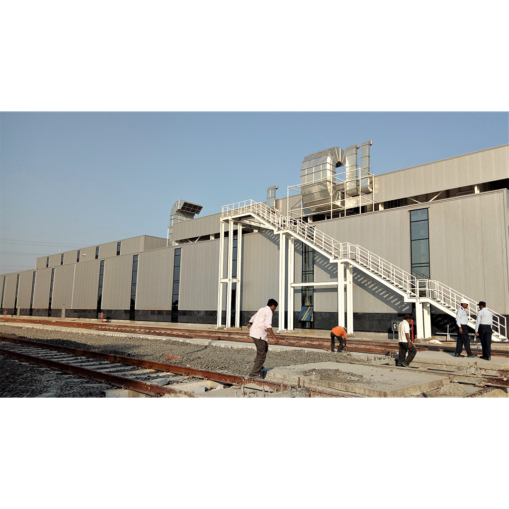 New Plasser India Railway Equipment Manufacturing Facility Industry