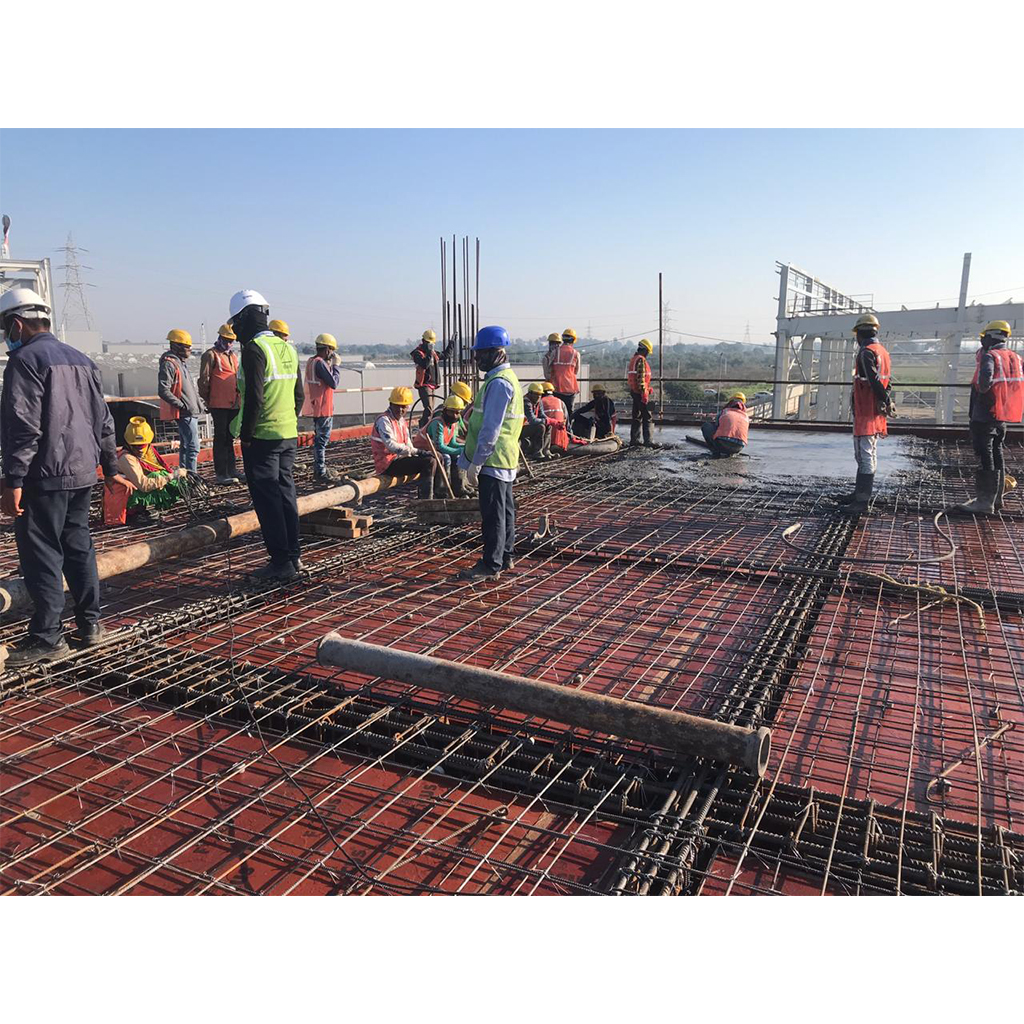 New Plasser India Phase 2 Tamping Unit Construction