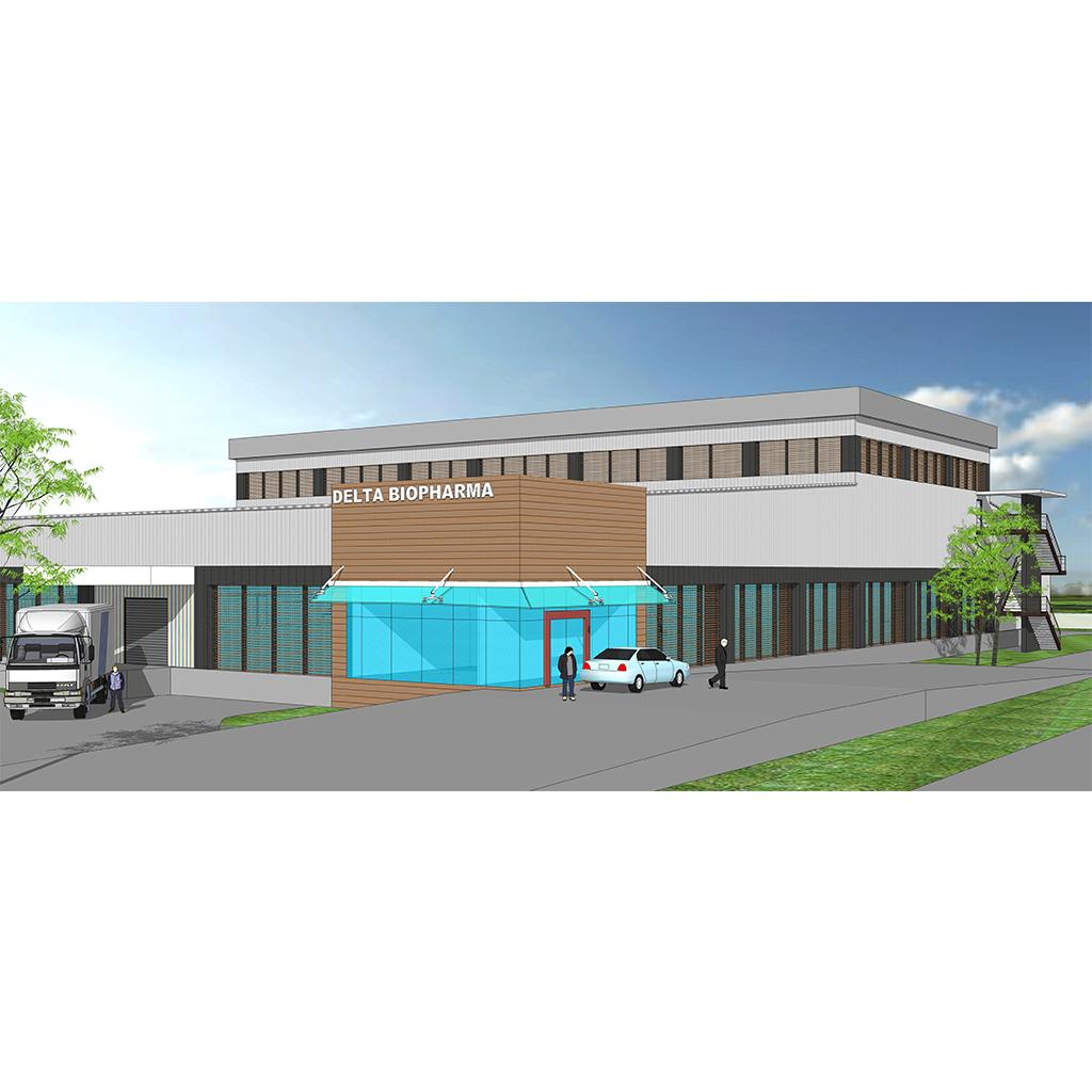 Delta BioPharma Plant and Warehouse